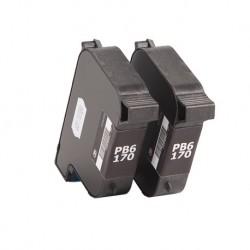 Cartouche encre générique 100% compatible pour machine à affranchir Pitney Bowes DP200 et DP400