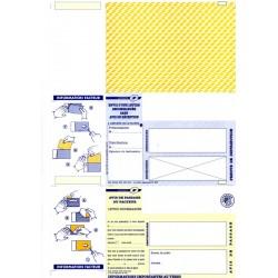 Plis auto-scellables A4 SANS AVIS DE RECEPTION pour plieuses-scelleuses