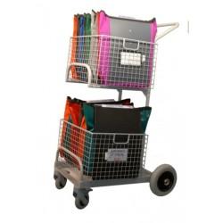 Chariot servicede distribution et collecte du courrier