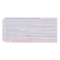 Recommandés manuel avec accusé de réception