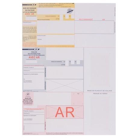 recommand imprim a4 avec accus de r ception sans code barre. Black Bedroom Furniture Sets. Home Design Ideas