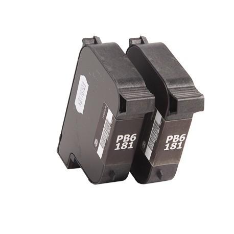 Cartouche encre générique 100% compatible pour machine à affranchir Pitney Bowes DM210i et DM390i