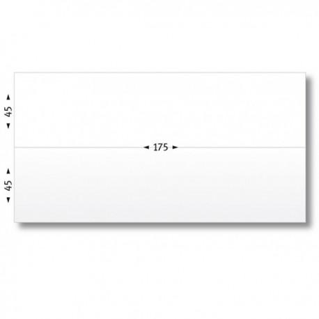 Etiquettes doubles affranchissement 175x(245) mm