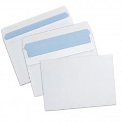 Enveloppes autoadhésives C5 162x229 sans fenêtre