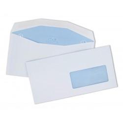 Enveloppe C5/C6 mécanisable pour machine à affranchir 114x229 avec fenêtre